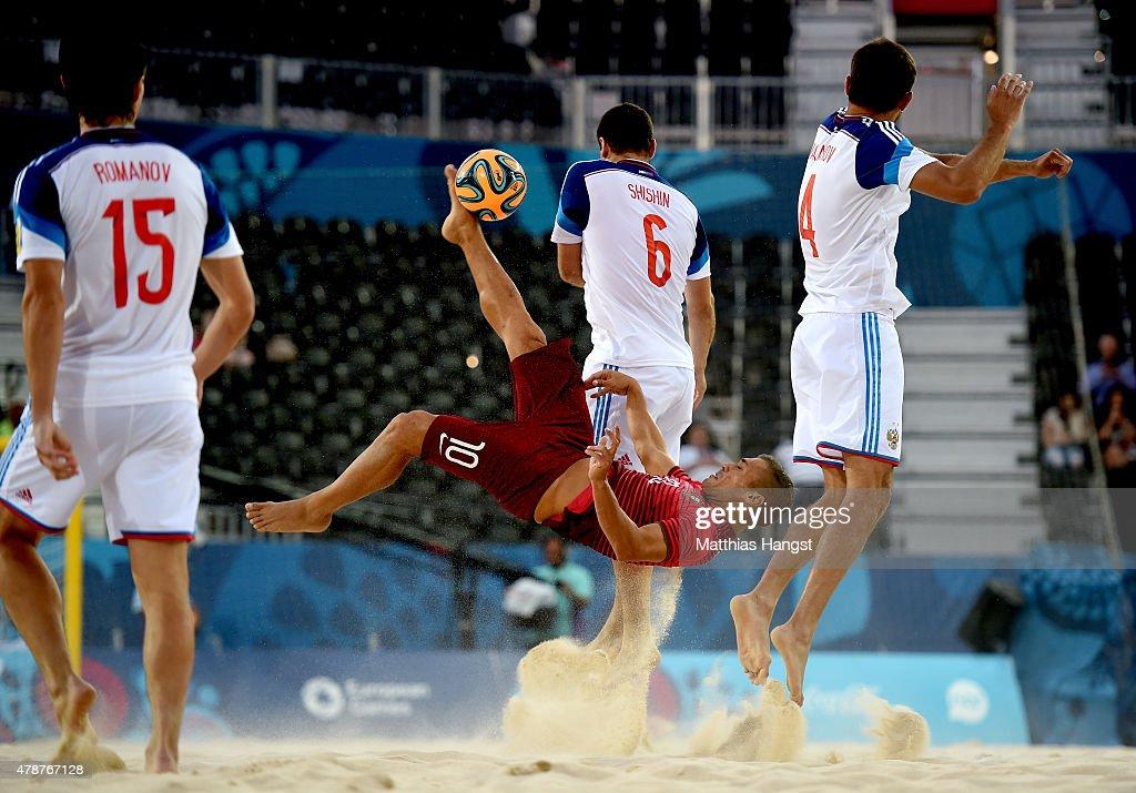 Beach Soccer - Day 15: Baku 2015 - 1st European Games