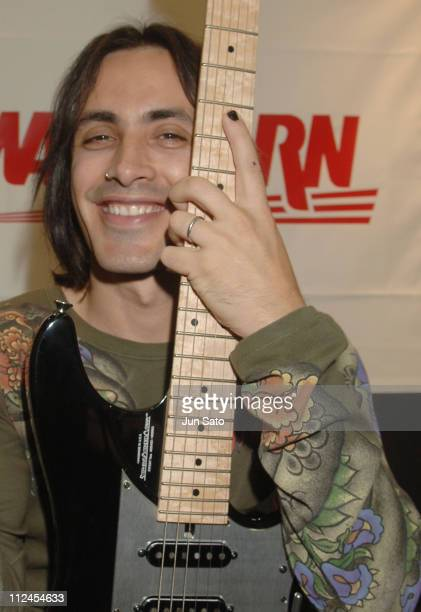 Nuno Bettencourt during Nuno Bettencourt Portrait Session November 6 2005 at Pacifico Yokohama in Yokohama Japan