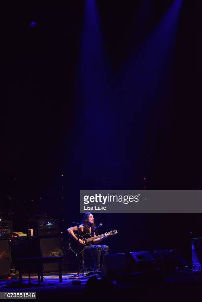Nuno Bettencourt performs during the Generation Axe tour at Sands Bethlehem Event Center on November 27 2018 in Bethlehem Pennsylvania