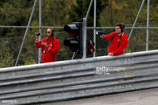 Nuno De Sousa Pinto Rene Rosin FIA Formula 3 European Championship Test Red Bull Ring Spielberg 8 9 April 2014