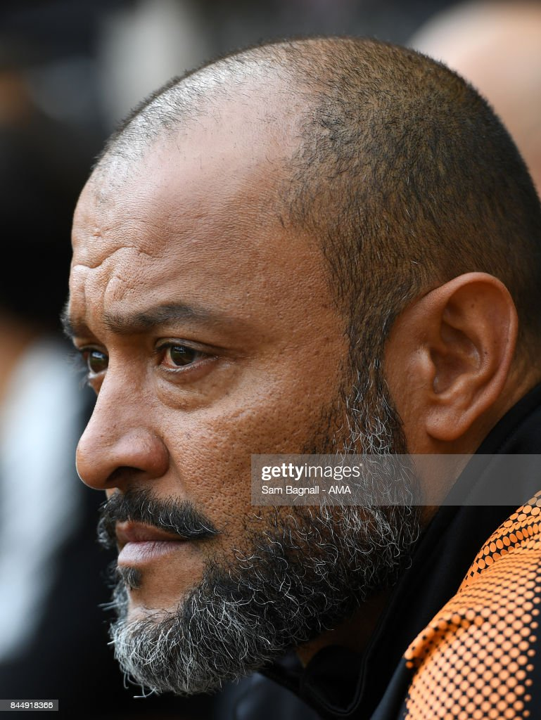 Nuno Espirito Santo manager / head coach of Wolverhampton Wanderers during the Sky Bet Championship match between Wolverhampton and Millwall at Molineux on September 9, 2017 in Wolverhampton, England.
