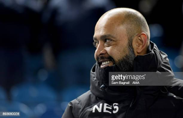 Nuno Espirito Santo manager / head coach of Wolverhampton Wanderers during the Sky Bet Championship match between Sheffield Wednesday and...