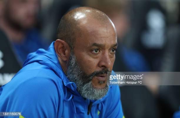 Nuno Espirito Santo, Tottenham Hotspur manager during the Pre-Season Friendly match between Milton Keynes Dons and Tottenham Hotspur at Stadium mk on...