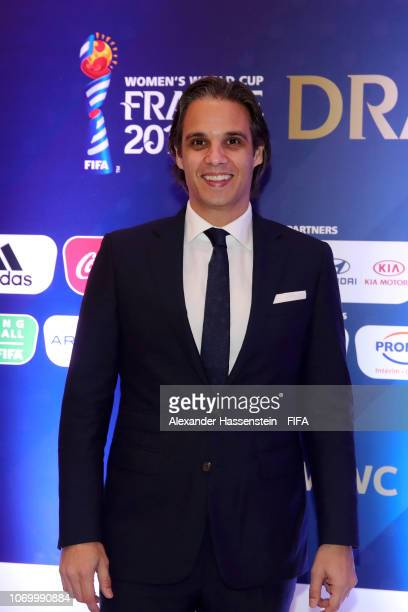 Nuno Gomes of Portugal arrives for the FIFA Women's World Cup France 2019 Draw at La Seine Musicale on December 8 2018 in Paris France