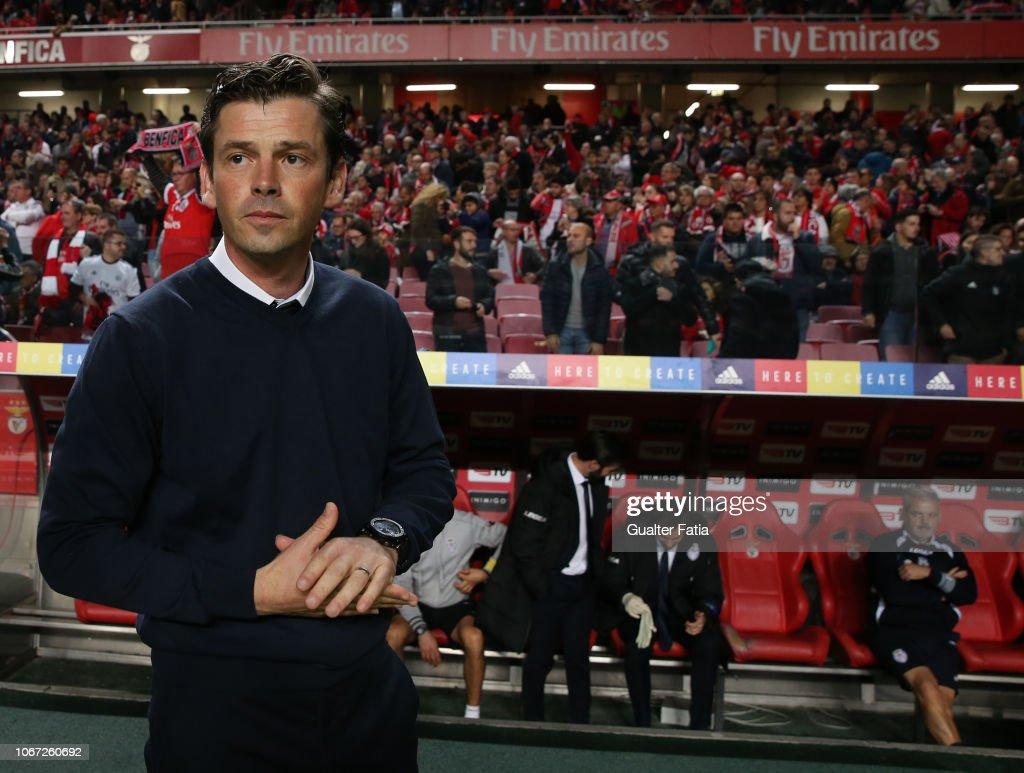 SL Benfica v CD Feirense - Liga NOS : ニュース写真