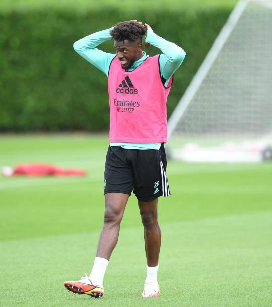 GBR: Arsenal Training Session