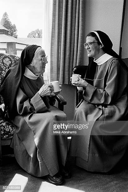 Nuns at the Anglican Convent of the Holy Name Malvern