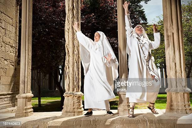 Baile monjas católicas