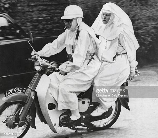 Nuns on Motorcycle