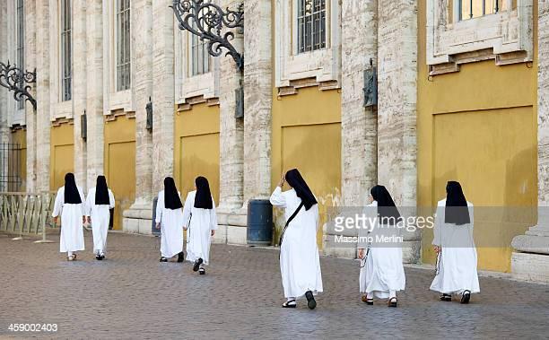 Des religieuses