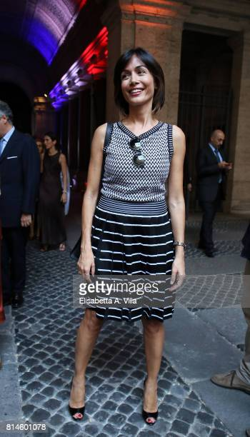 Nunzia De Girolamo attends French National Day celebrations on July 14, 2017 in Rome, Italy.