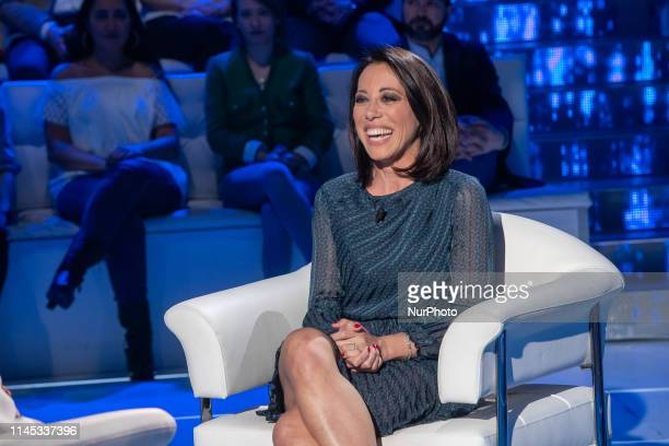Nunzia De Girolamo during the Italian TV Show quotDomenica Inquot in Rome Italy on May 20 2019