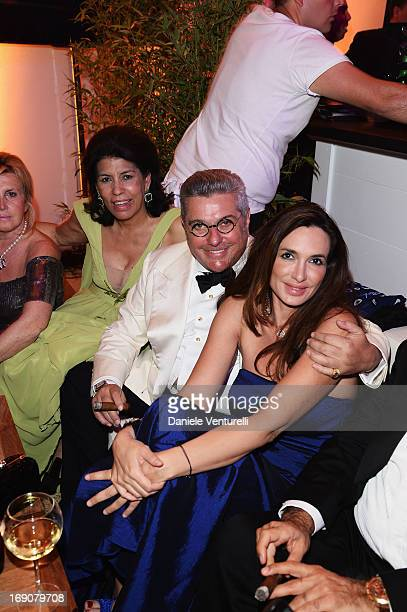 Nunzio Alfredo D'Angieri and guests attend the Eva Longoria Global Gift Gala after party hosted by Nikki Beach Cannes during The 66th Annual Cannes...