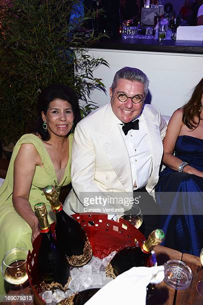 Nunzio Alfredo D'Angieri attends the Eva Longoria Global Gift Gala after party hosted by Nikki Beach Cannes during The 66th Annual Cannes Film...