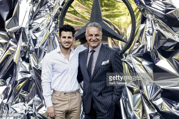 Nunzio and Dom Bagnato attend the NGV Triennial Opening Night at NGV International on December 13, 2017 in Melbourne, Australia.