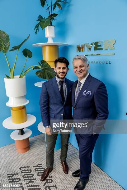 Nunzio and Dom Bagnato during the Melbourne Cup Carnival Media Preview Day at Flemington Racecourse on November 2, 2017 in Melbourne, Australia.