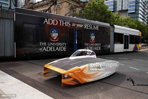Nuon Solar Car Team Stock Photos And Pictures Getty Images