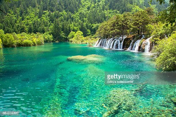 Nuorilang Falls in Shuzheng Valley