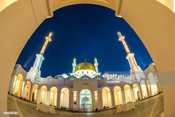 Nur Astana. The beautiful mosque in city of Astana