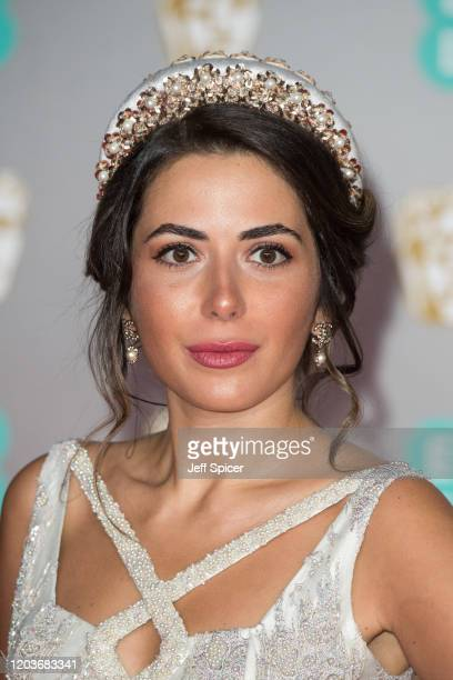 Nurce Erben attends the EE British Academy Film Awards 2020 at Royal Albert Hall on February 02, 2020 in London, England.