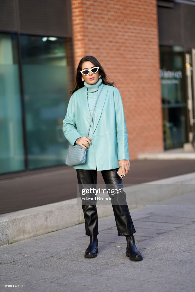 Street Style - LFW February 2020 : Photo d'actualité