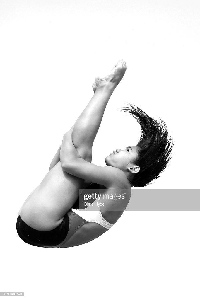 Nurdhabitah Sabri of Malaysia dives during the Womens 3m springboard semi final during the FINA Gold Coast Diving Grand Prix at the Gold Coast Aquatic Centre on November 10, 2017 in Gold Coast, Australia.