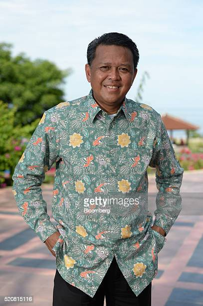 Nurdin Abdullah regent of Bantaeng District poses for a photograph in Bantaeng South Sulawesi Province Indonesia on Sunday March 13 2016 The success...