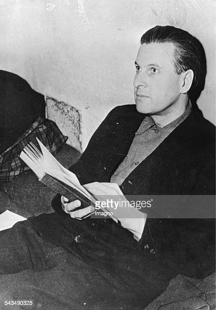 Nuremberg Trials Baldur Benedikt von Schirach in his cell He was a Nazi youth leader later convicted of crimes against humanity He was the head of...