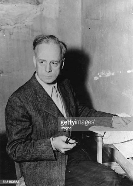 Nuremberg Trials Joachim von Ribbentrop in his cell Joachim von Ribbentrop was Foreign Minister of the German Reich from 1938 until 1945 A...