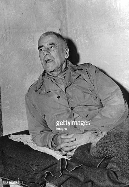 Nuremberg Trials Wilhelm Frick in his cell He was a prominent German politician of the Nazi Party who served as Reich Minister of the Interior in the...