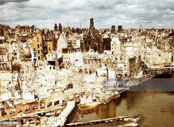 Nuremberg was liberated after a five day battle by troops of the 7th US Army in April 1944 June 1945 The city had been seriously damaged by...