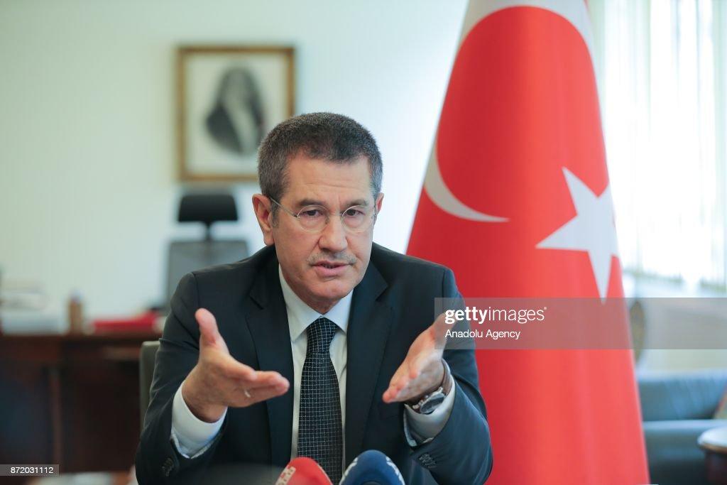 Image result for Turkish Defense Minister Nurettin Canikli, photos