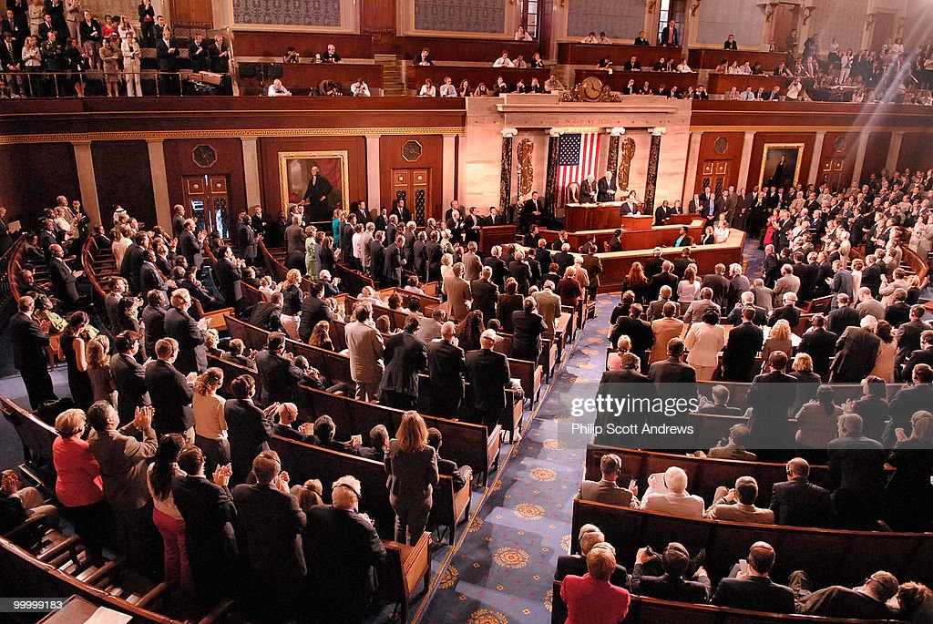 Nuri al-Maliki, Prime Minister of Iraq, speaks to a joint session of Congress.