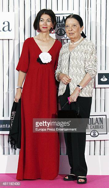 Nuria de Miguel and Cuca Solana attend 'IX International Yo Dona Awards' on June 24 2014 in Madrid Spain