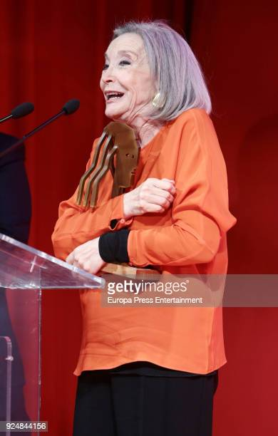 Nuria Espert attends 'Fotogramas Awards' gala at Joy Eslava on February 26 2018 in Madrid Spain