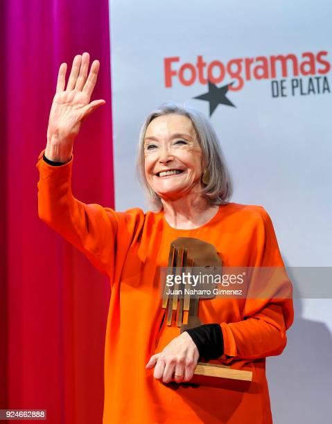 Nuria Espert receives the 'Fotogramas Awards' at Joy Eslava on February 26 2018 in Madrid Spain
