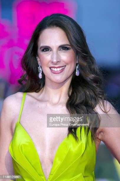 Nuria Fergó attends the Malaga Film Festival 2019 closing day gala at Cervantes Theate on March 23 2019 in Malaga Spain