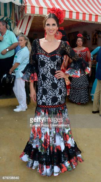 Nuria Fergo attends 2017 April's Fair on May 4 2017 in Seville Spain