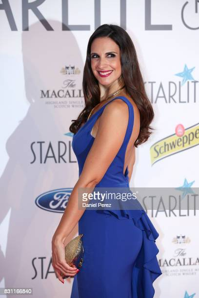 Nuria Fergo attends Starlite Gala on August 13 2017 in Marbella Spain