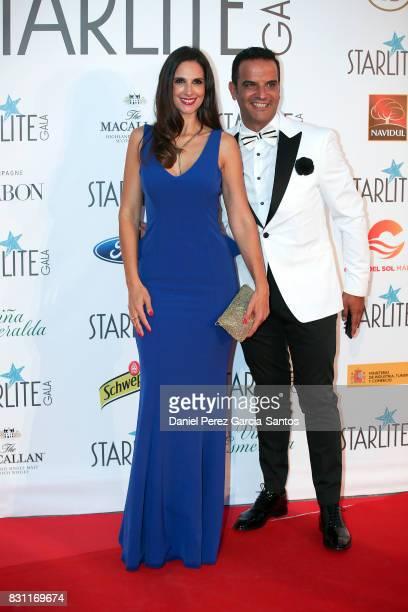 Nuria Fergo attends Starlite Gala on August 13 2017 in Marbella Spain