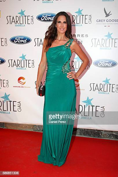 Nuria Fergo attends Starlite Gala on August 6 2016 in Marbella Spain