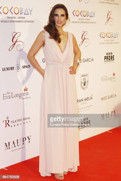 Nuria Fergo attends the Global Gift Gala 2017 at Royal Theatre on April 4 2017 in Madrid Spain