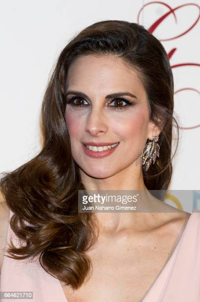 Nuria Fergo attends the Global Gift Gala 2017 at the Royal Teather on April 4 2017 in Madrid Spain