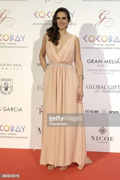 Nuria Fergo attends the Global Gift Gala at The Royal Theatre on April 4 2017 in Madrid Spain