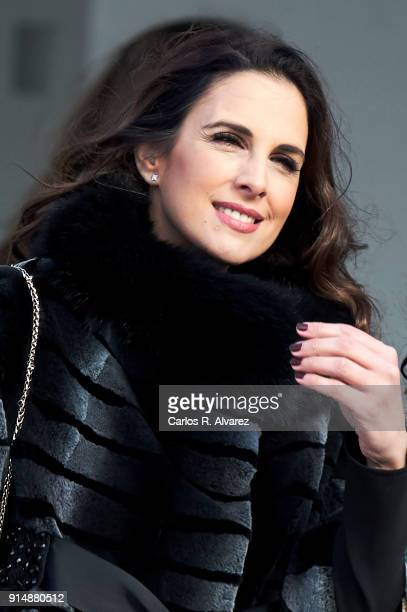 Nuria Fergo attends the Gold Medals of Merit in Fine Arts 2016 ceremony at the Pompidou Center on February 6 2018 in Malaga Spain