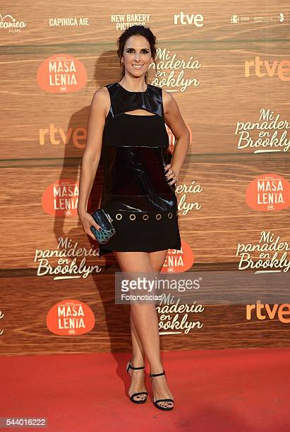Nuria Fergo attends the 'Mi Panaderia de Brooklyn' premiere at Capitol cinema on June 30 2016 in Madrid Spain