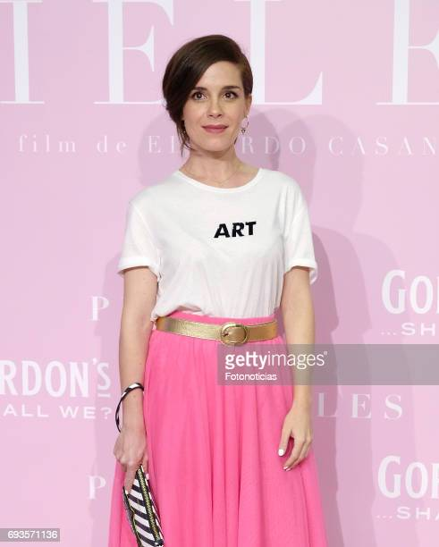Nuria Gago attends the 'Pieles' premiere pink carpet at Capitol cinema on June 7 2017 in Madrid Spain