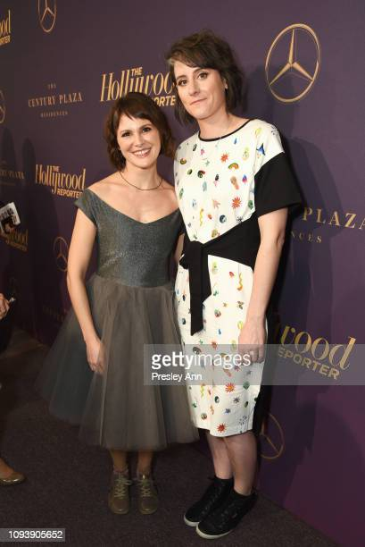 Nuria González Blanco and Louise Bagnall attend The Hollywood Reporter's 7th Annual Nominees Night presented by MercedesBenz Century Plaza Residences...