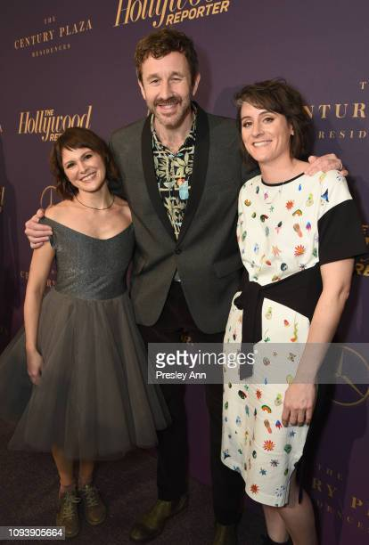 Nuria González Blanco Chris O'Dowd and Louise Bagnall attend The Hollywood Reporter's 7th Annual Nominees Night presented by MercedesBenz Century...