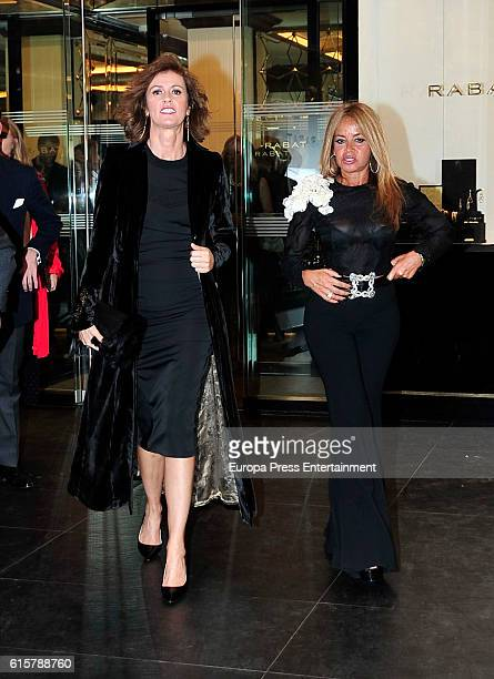 Nuria March and Begona Garcia Vaquero attend Rabat and Rolex party at Florida Park Club on October 18 2016 in Madrid Spain